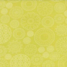 Moda Sweetwater Wishes Doilies Fabric in Pickle Green 5531-21 100% Cotton