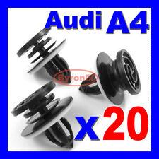 AUDI A4 PORTA CARD Trim Clip Pannello interno elementi di fissaggio in plastica x 20