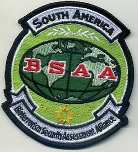 RESIDENT EVIL Bio-terrorism Security Assessment Alliance BSAA S. America Patch