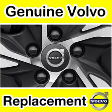 Genuine Volvo XC60 (16) TAPACUBOS Kit/Centro De Rueda Kit (gris Oscuro)