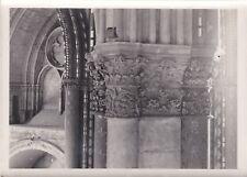 V131 Photo originale ancienne Chapiteau de la cathédrale de REIMS 17,5 X 13 cm