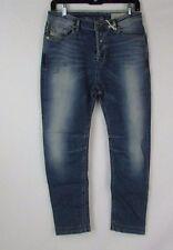 Diesel Eazee Relaxed Leg Boyfriend Trouser Jeans Size 25x32 0U804 K904