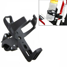 """2"""" Bicycle Motorcycle Beverage Water Bottle Drink Cup Holder Quick Release Black"""