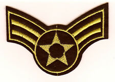 US AIR FORCE écusson UNITED STATES ARMY Patch Caporal Wings USA Armée
