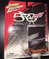 Johnny Lightning 50th Anniversary Corvette 94 Corvette 37/50 R2 Factory Color