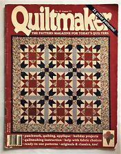 Quiltmaker pattern magazine ~ August 1993