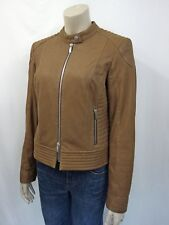 799€ NEU  LAUREL Lederjacke Gr.40 Lammleder Leather Jacket Bikerstyle Braun