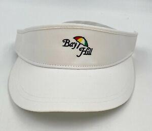 Bay Hill Golf Club Imperial White Performance Tour Visor NEW