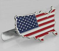 American flag Auto Grill Frontgrill Emblem Badge Abzeichen Schriftzug Plakette