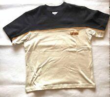 "Kinder T-Shirt ""Formicula"" - Gr. 128, Baumwolle, gelb - weiß, Langarm"