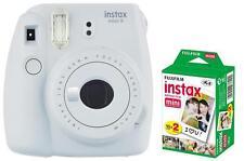 Fuji Instax Mini 9 weiß / weiss inkl. Instax Film 20 Aufnahmen Sofortbildkamera
