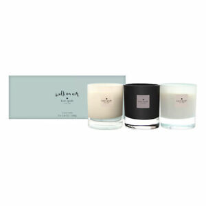 Kate Spade Walk On Air 3-piece Scented Candles 3 X 3.8oz/108g New In Box