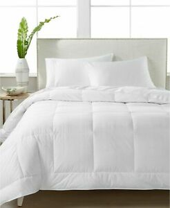 Hotel Collection White Down 400-Thread Count Medium Weight Full/Queen Comforter