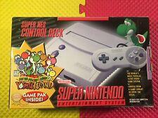 Super Nintendo Entertainment System Box & Styrofoam Only Mario 2 Yoshi's Island