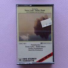 Tchaikovsky Swan Lake Ballet Music Andre Kostelanetz Orchestra Cassette (C30)