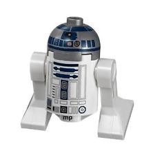 LEGO Star Wars - R2-D2 MiniFigure (Flat Silver Head, Lavender Dots)  Set 75136