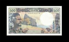 "1985 TAHITI 500 FRANCS FRENCH **PAPEETE** ""A"" (( GEM UNC ))"