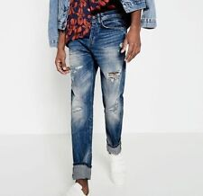 Mid Regular Classic Fit, Straight 32L Jeans for Men