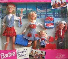 Barbie Travelin' Sisters Playset Special Edition, Mattel 1995 14073 NRFB