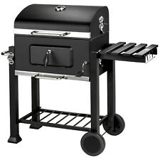 Holzkohlegrill BBQ Holzkohle Barbecue Smoker Grill Gartengrill Grillwagen