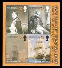 Montserrat - 2005 Battle of Trafalgar 200th Anniversary - Sheet of 4 - MNH
