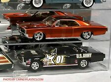 Model 1/18 Diecast Display Case 6 car Muscle  ss