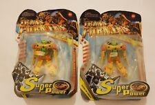 Lote dos Figuras Transformers Super Power nuevo