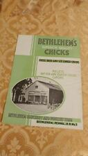 1930s Agriculture Reference Bethlehem PA Hatchery Poultry Farm Chicks Chickens F
