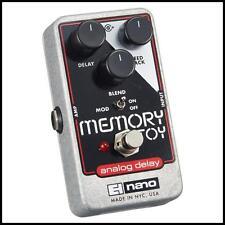 Electro-Harmonix Memory Toy Analog Echo Chorus Delay Nano Guitar Effects Pedal
