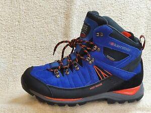 Karrimor Hot-Rock Waterproof Walking Boots NEW Blue/Black/Orange UK 8/9 EU 42/43