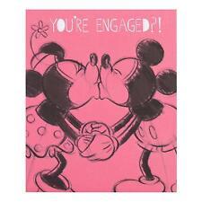 Hallmark Disney Minnie Engagement Congratulation Card Love Happens - Small