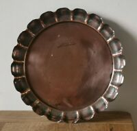 Antique Arts And Crafts Copper tray by Joseph Sankey and Sons