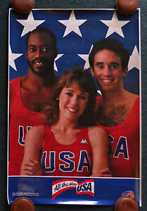 UNITED STATES OLYMPIC TRACK AND FIELD TEAM 1984 POSTER MARY DECKER KODAK