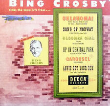 78 rpm album 4  M+ discs / album: M    BING CROSBY SINGS BROADWAY SHOW HITS
