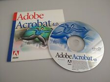 Adobe Acrobat 4 Vintage Software for Mac OS-X