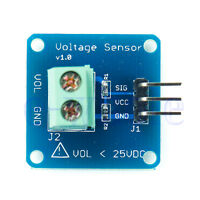 DC Voltage Sensor Module Voltage Detector Divider for Arduino HM