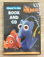 Brand New Read To Me Book and CD Features Disney Pixar Finding Nemo Kids