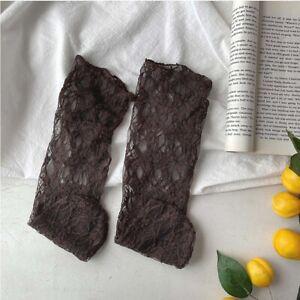 Breathable Vine Korean Women Mesh Socks Pile Stockings Lace JK Stockings