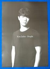 Kim Jinho (Sg Wanna Be) - People Official Posters Hard Tube Case New K-POP