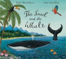Julia Donaldson Story Book - THE SNAIL AND THE WHALE STORY BOOK -  NEW