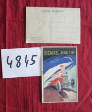 N°4845 / SIZAIRE et NAUDIN : carte postale couleur signé S.FONSECA