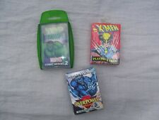 MARVEL COMICS 1990's PLAYING CARD PACK - set of three games