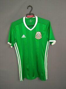 Mexico Jersey 2016/17 Home SMALL Shirt Mens Camiseta Football Adidas AC2723 ig93