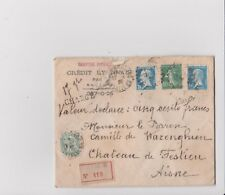 Old France Postal Cover Year 1926