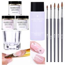 BORN PRETTY Acrylic Powder Liquid Tips Extension Nail Art Polymer Powder Brushes