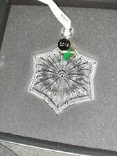 2019 Waterford Snowcrystal Crystal Christmas Tree Ornament