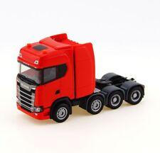 Herpa 308601 - H0: Scania CS HD Schwerlastzugmaschine, rot - NEU + OVP