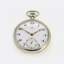 Vintage Omega Pocket Watch Stainless Steel