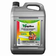Olio protettivo per catene motoseghe flacone 5 litri PAPILLON biodegradabile