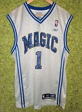 Reebok VINTAGE NBA ORLANDO Magic TRACY McGrady #1 WHITE Jersey SIZE M
